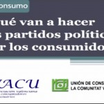 Debate Consumo: ¿Qué van a hacer los partidos políticos por los consumidores?