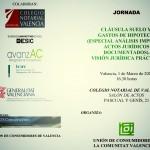 Jornada Cláusula Suelo y Gastos de Hipoteca