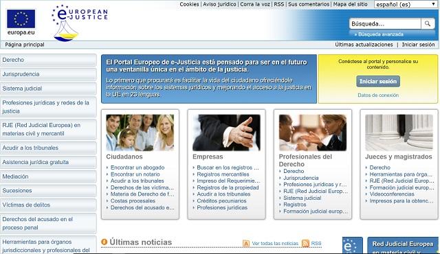 El Portal Europeo de e-justicia como futura ventanilla única de acceso a la Justicia